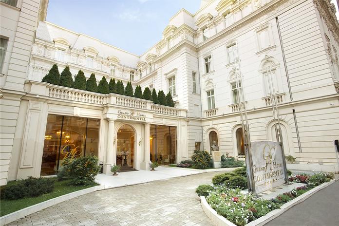 Grand Hotel Continental, fațadă - hoteluri de lux din România