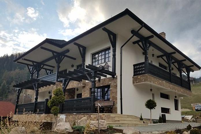 Casa Gerald, fațadă - hoteluri de lux din România