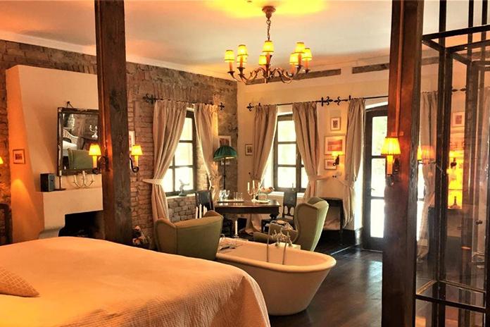 Zabola Estate, design camere - hoteluri de lux din România