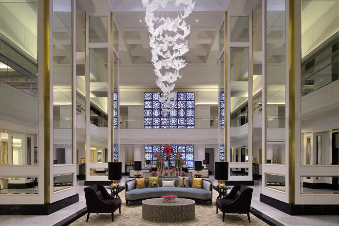 Receptia hotelului Taj Dubai