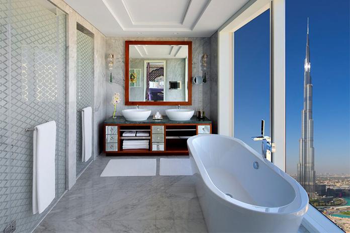 Pozitionarea hotelului Taj Dubai